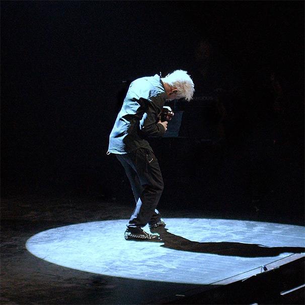 Kristian på scenen